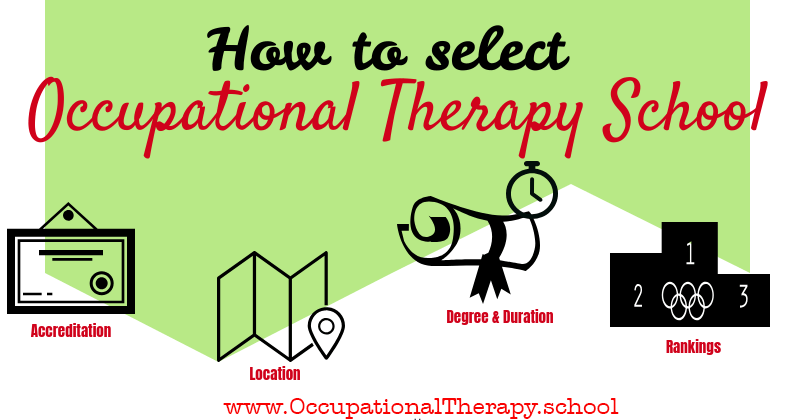 How to select occupational therapy school