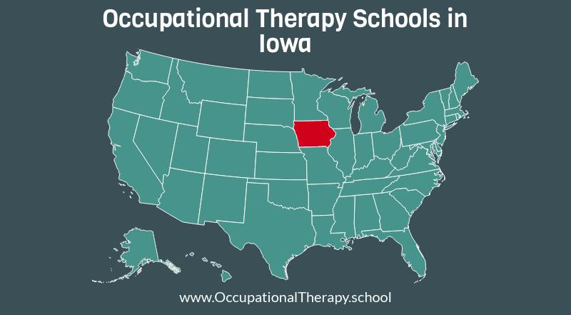 OT schools in Iowa