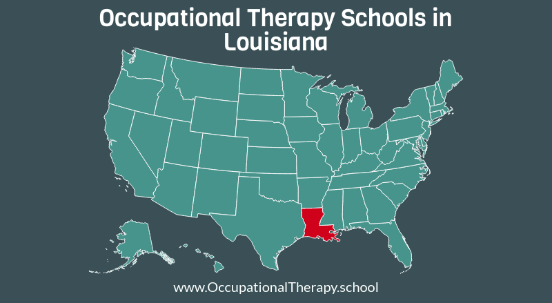 OT schools in Louisiana