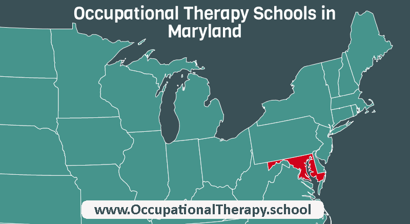 OT schools in Maryland